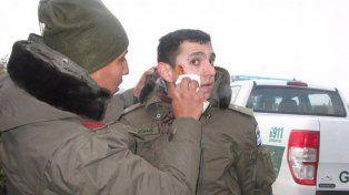 El gendarmeEmmanuel Echazú, imputado en la causa por al desaparición forzada de Santiago Maldonado.