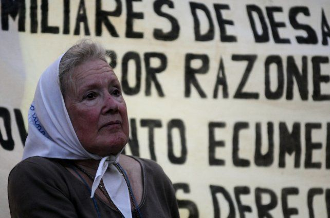 La referente de la Línea Fundadora de Madres de Plaza de Mayo