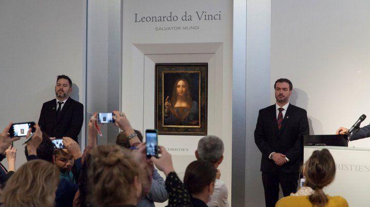 Sale a subasta la obra de Da Vinci que aseguran que contiene un ligero error