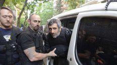 Baratta fue detenido en el barrio porteño de Belgrano, luego de que fuera a saludar a sus hijos.