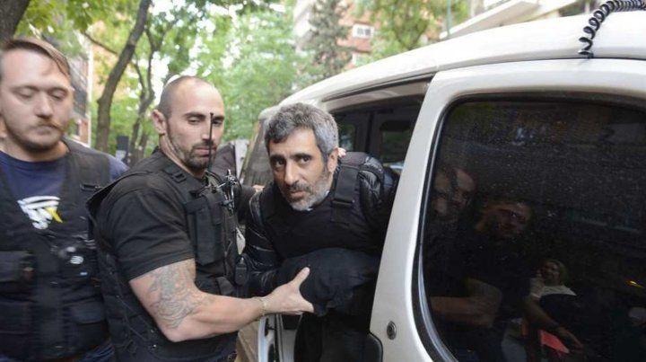 Baratta fue detenido en el barrio porteño de Belgrano
