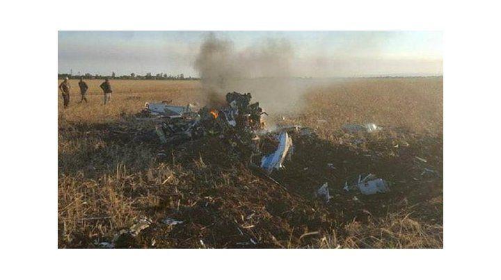El Grob 120 TP se estrelló en las cercanías de Alta Gracia.