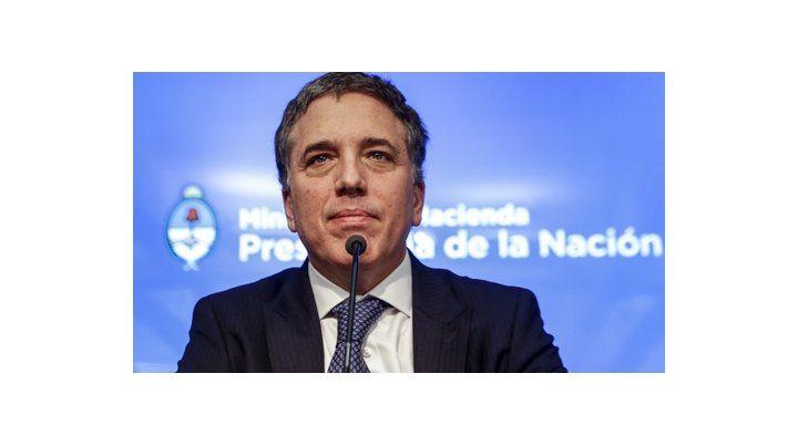 Planes. El ministro de Hacienda de la Nación