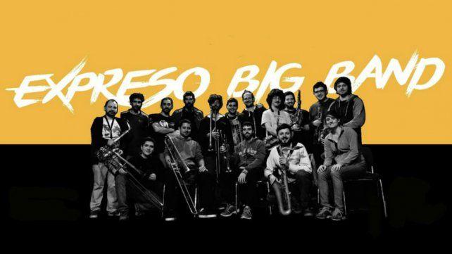 La Expreso Big Band le pone música al renovado Rosedal del parque Independencia
