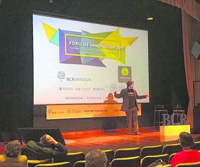 innovación. La Bolsa de Rosario fue escenario de un megaencuentro para abrir mentes a los emprendedores.
