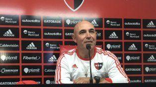 Llop: Ojalá podamos armar tres veces el mismo equipo para así lograr regularidad