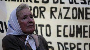 Nora Cortiñaz, referente de la Línea Fundadora de las Madres de Plaza de Mayo.
