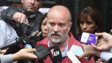 Dolor y confirmación. Sergio Maldonado reconoció que el cuerpo hallado es de Santiago.