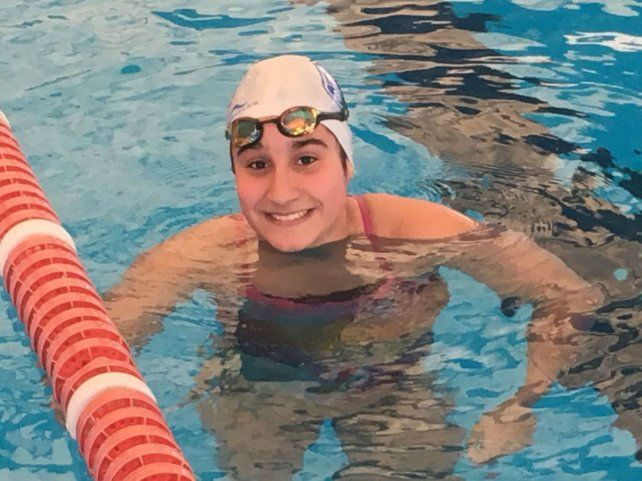 De Náutico. Alina Wallsey viene de hacer un récord nacional en Santiago del Estero.