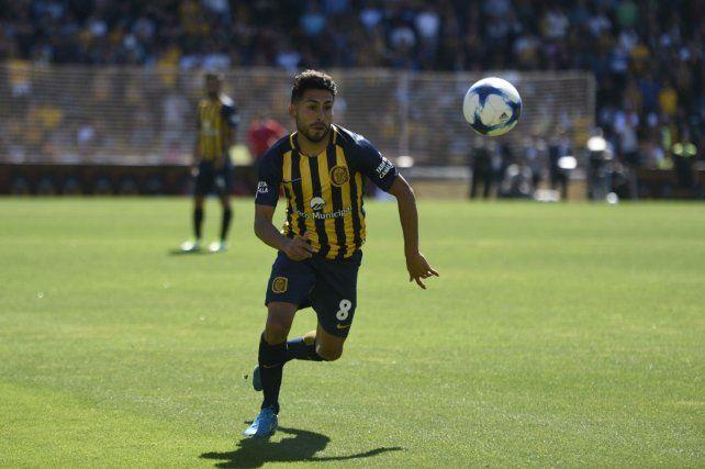 Adentro. Carrizo reemplazará al Colo Gil ante Godoy Cruz. Pachi puede ser determinante con sus punzantes apariciones.