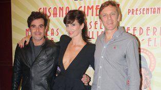 Nicolás Cabré, Griselda Siciliani y Federico DElía son los protagonistas de la obra Sugar.