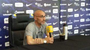 Montero habló hoy con la prensa. Mañana será el último ensayo antes del viaje a Córdoba.