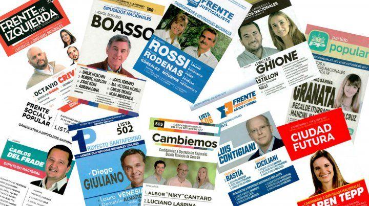 En una elección atípica, Santa Fe elige nueve bancas en Diputados
