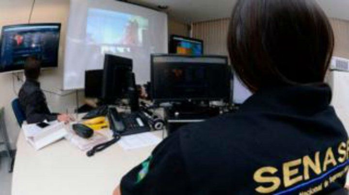 investigación. La policía brasileña utilizó para la causa software especial suministrado por Estados Unidos.