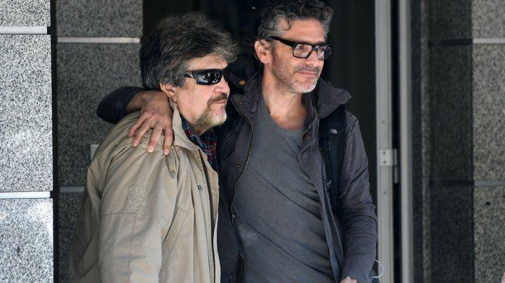 Rafael Spregelburd y Leo Sbaraglia.