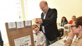 Contigiani votó en Arequito.