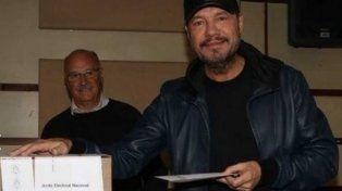 Tinelli votó junto a Candelaria y aprovechó para mandarle un mensaje al gobierno