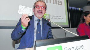 jugada exitosa. El gobernador de Lombardía, Roberto Maroni, dijo que iniciarán negociaciones de inmediato.