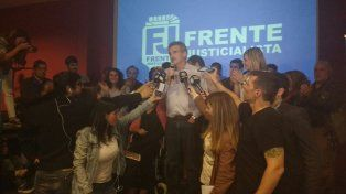 El candidato a diputado destacó un crecimiento del peronismo provincial respecto a la elección de 2013.