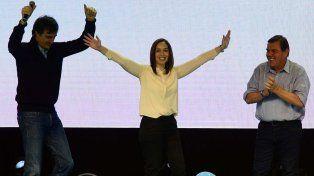 Hoy como en el 2015 millones nos abrazamos en las urnas para cambiar, aseguró la gobernadora de Buenos Aires.