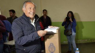 Votó en Potrero de los Funes.