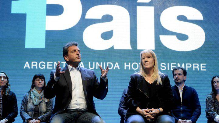 Massa y Randazzo, fuera del Senado, llamaron a construir una alternativa