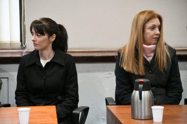 Virginia Seguer y su madre