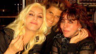 Fotos y videos de la fiesta privada de Susana, su hija Mecha y Cristian Castro