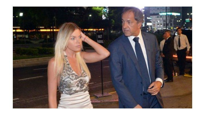 Nació Francesca, la hija de Daniel Scioli y Gisela Berger
