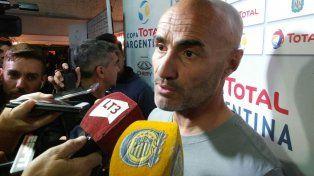 Aliviado. Paolo Montero elogió a los jugadores y a la dirigencia tras el triunfo en Córdoba.