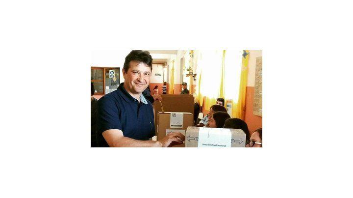 Al Concejo. Claudio Garziera se consagró ganador por FPCyS en Firmat.