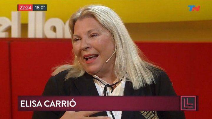 Construyeron un desaparecido, dijo Carrió sobre la muerte de Santiago Maldonado