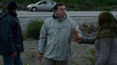 Hace una semana, el juez Gustavo Lleral acudió al lugar donde ese día fue hallado el cuerpo de Santiago Maldonado.