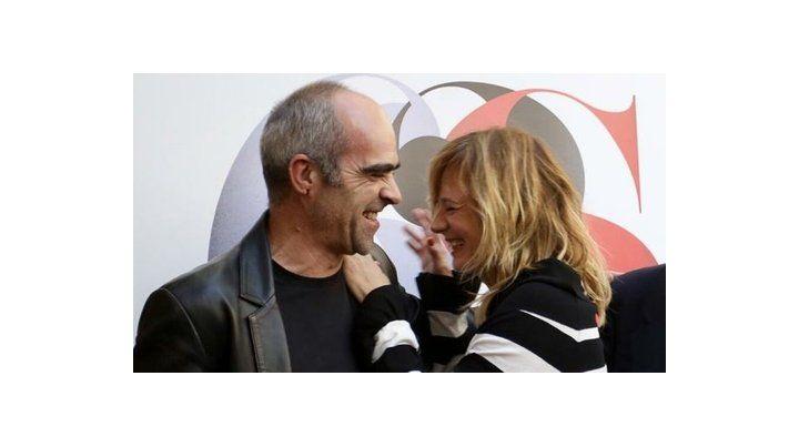 premios. Luis Tosar y Emma Suárez recibieron la Espiga de Honor.