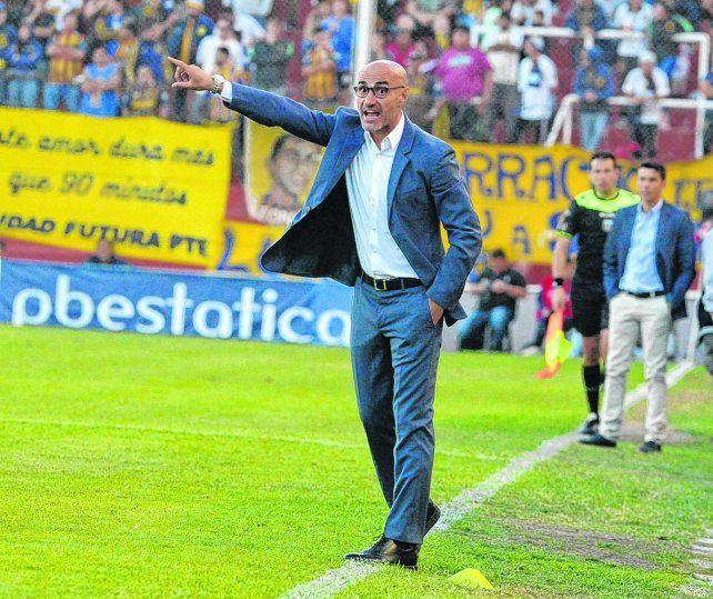Salvó la ropa. Montero se mostró muy activo durante todo el partido en Córdoba y al final respiró con la heroica clasificación de Central a las semifinales de la Copa Argentina.