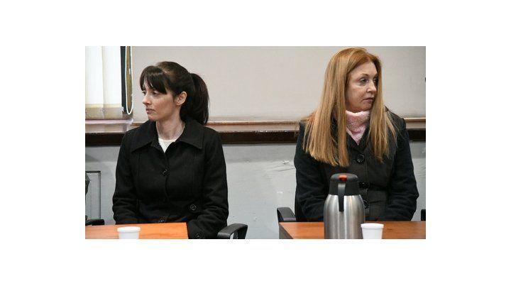 a prisión. Virginia Carolina Seguer y su madre