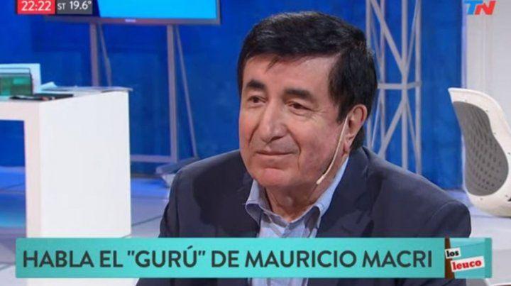 La campaña en provincia de Buenos Aires fue la más difícil de mi vida, confesó Durán Barba