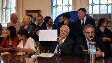 Los diputados de la bancada justicialista anunciaron que no convalidarán la persecución al compañero.