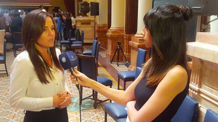 Anita Martínez aseguró que era un riesgo que De Vido esté en libertad