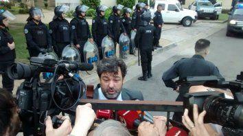 El abogado del exfuncionario K, Maximiliano Rusconi, cuestionó el accionar judicial.