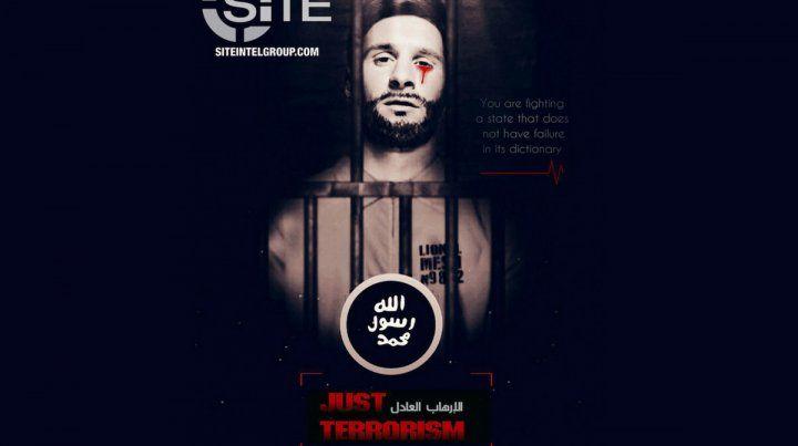 El diplomático se refirió a la supuesta amenaza que el grupo terrorista Isis lanzó con la imagen de Messi.