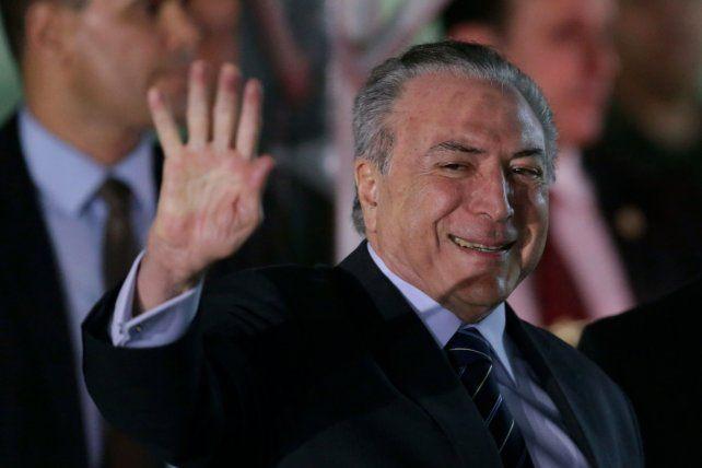 El presidente de Brasil nuevamente quedó a salvo de un juicio por corrupción