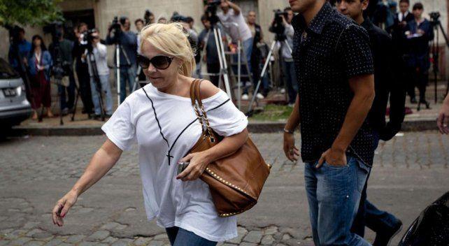 Claudia Villafañe fue asaltada y lastimada en Villa Devoto