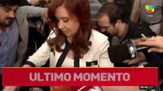 cristina se presenta ante el juez bonadio para declarar por la denuncia de nisman