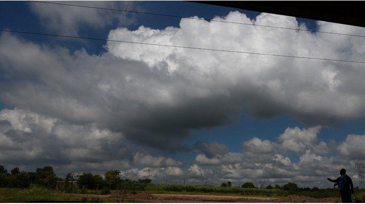 El Servicio Meteorológico renovó el alerta por fuertes lluvias.