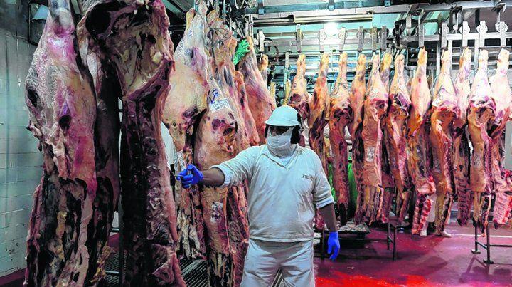 repunte. La industria vendió 157 mil toneladas más de carne en los primeros 9 meses de 2017 que idéntico lapso de 2016.