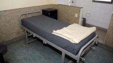 La cama de De Vido en el Hospital Penitenciario Central de la cárcel de Ezeiza.