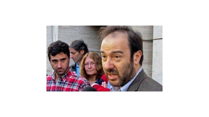 querellante. El abogado Salvador Vera representa al hijo y una hermana de Franco Casco.