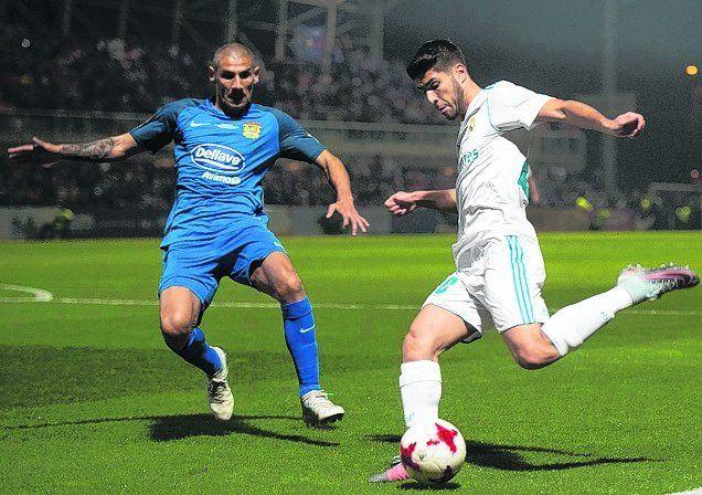 El Cata Díaz volvió a enfrentar a Real Madrid