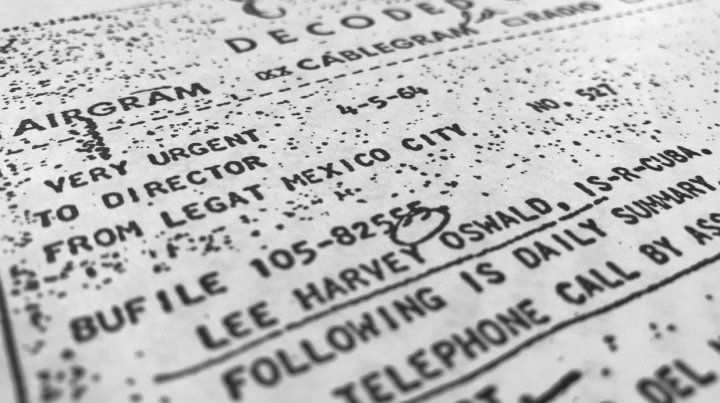 Se hicieron públicos 2.800 documentos pero el FBI y la CIA quisieron conservar parte del secreto. Alguna información debe seguir censurada